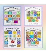 Quilting With Design-A-Knit - All FOUR Volumes MK & HK - $15.00