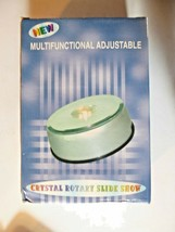 Crystal Rotary Slide Show Multi Color Lights New image 2