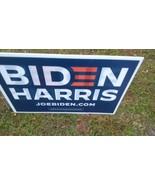 "2020 Political Campaign 24"" x 16"" Biden Harris Yard Sign w/ Stake double... - $11.30"