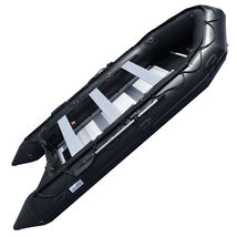BRIS 1.2mm PVC 15.4 ft Inflatable Boat Inflatable Rescue &Dive Boat Dinghy Raft image 2