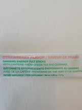 Arbonne Ginseng STRAWBERRY Fizz Sticks . Lot of 5 . Exp 03/2022 . Ships Free image 2