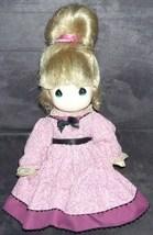 "Precious Moments VINTAGE Dressed Vinyl Doll 10"" - $12.96"