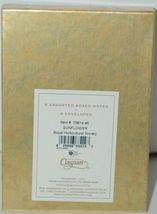 Caspari 7961446 Sunflower 8 Assorted Boxed Notes and Envelopes 2 Designs image 6