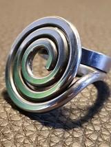 ❤️  Exceptional Rare Vintage Norway Plus Anna Greta Eker Silver Wire Ring ❤️ - $484.30