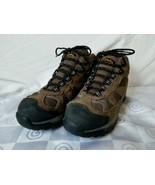 Cabela's Womens Steel Toe Work Hiking Boot Brown Suede Leather Size 8 Lo... - $47.45