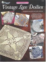 Vintage Lace Doilies~6 designs~ Crochet Pattern - $4.99