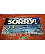 Parker Brothers Sorry Vintage Board Game 0390 - $24.74