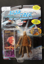 TNG Dr. Noonian Soong Very RARE Playmates Toys Action Figure with Tradin... - $14.50