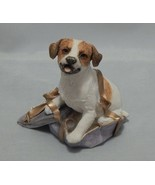 Country Artists Jack Russell Terrier Figurine in Present - $12.87