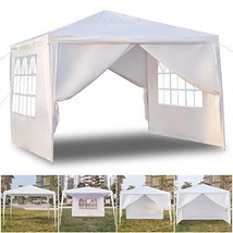 St.CHIU Outdoor Canopy, 10 x 10FT 4 Sides Pop-Up Waterproof Folding Tent... - $63.34