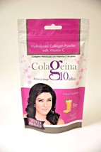 Colageina 10 100gr Pouch, Nail And Hair Restorer, Hydrolized Collagen Colageno - $14.82