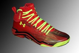 Under Armour Micro G Pro 1251479-602 Men's Red Comp Fit Basketball Shoes... - $149.00