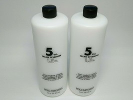 Paul Mitchell 5Vol Cream Developer 1.5% 33.8fl oz. (Lot of 2) New - $26.41