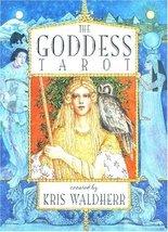 The Goddess Tarot Deck [Cards] Kris Waldherr - $21.28