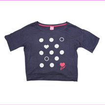 Jenni Short Sleeve Hearts & Dots Pajama Top T-Shirt in Small - $8.80