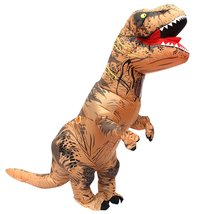 Adult Inflatable T-Rex Costume Dinosaur Halloween Suit Cosplay Fantasy C... - £58.04 GBP