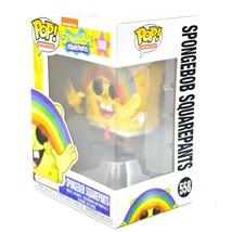 Funko Pop! Spongebob Squarepants with Rainbow #558 Vinyl Figure image 2