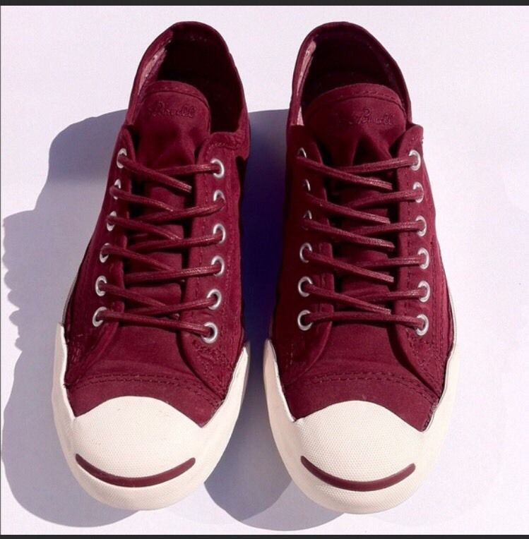 072bff633a94 S l1600. S l1600. Previous. NWOB Unisex Converse Jack Purcell Burgundy Slip  Oxford Mens 9