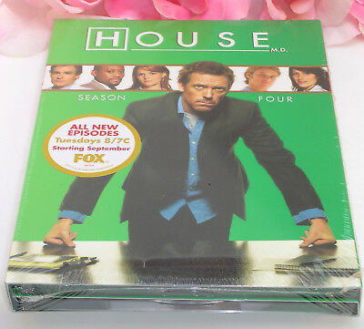Primary image for New Sealed DVD's House M.D. Season 4 TV Series Medical Drama 24 Episodes