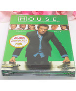 New Sealed DVD's House M.D. Season 4 TV Series Medical Drama 24 Episodes - $19.99