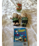 VINTAGE 1965 Original Peanuts Collection Linus Peppermint Pattie Snoopy ... - $99.59