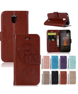 For Nokia 1 2 3 6 5 8 2017 7Plus 8 Sirocco Owl Pattern Leather Wallet Ca... - $61.50