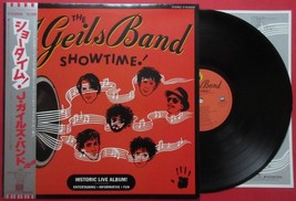 "The J. GEILS BAND SHOWTIME! LIVE ALBUM JAPAN LP 12"" RECORD with OBI EYS-... - $7.98"