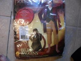 Lord of the Rings, Hobbit Bilbo Baggins costume. boys 4-6, new in pkg Ru... - $12.00
