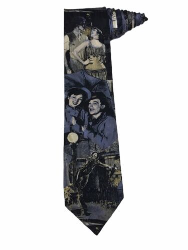 Primary image for American Film Classic Singin In The Rain Gene Kelley Debbie Reynolds Vintage Tie