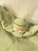 Angel Dear Green Dinosaur Security Blanket Baby Lovie Blankiet 13 x 13 S... - $30.38