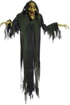 Hanging Witch 72' Animated Halloween Decoration - €45,98 EUR