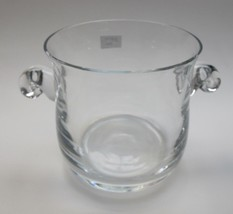 Lenox crystal Hamilton pattern ice bucket Crystal Made in USA Mt Pleasant PA - $54.82