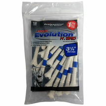 12 Pride Evolution 83 mm 8.3cm Golf Tees. Pride Tee System - $5.20