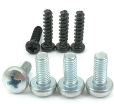 8 New Insignia TV Base Stand Screws for Model  NS-50D550NA15 (For Glass Stand) - $6.13