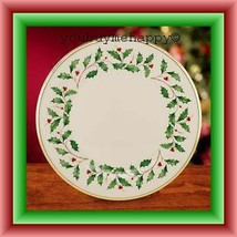"Lenox Christmas  Holiday™   10 3/4"" Dinner Plate  New - $49.50"