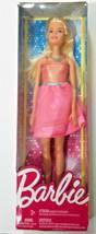 Barbie Glitz Coral Dress Blonde Doll Mattel DRN76 NEW! - $14.03