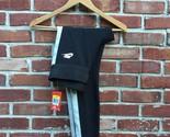 $80 NIKE Black Tech Fleece Leggings Black Silver Size S Small 643059 RARE!