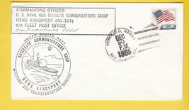 SATELLITE COMMUNICATIONS SHIP USNS KINGSPORT HONOLULU HAWAII 12/30/1965  - $3.98