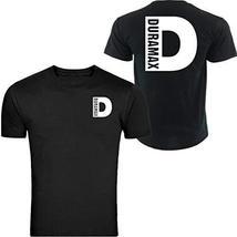 White Duramax Diesel Black tee unisex size Front & Back (4XL) - $19.59