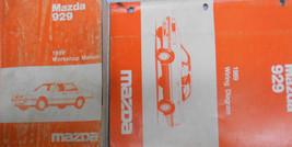 1989 Mazda 929 Service Reparatur Shop Manuell Set Fabrik OEM Selten How ... - $22.28