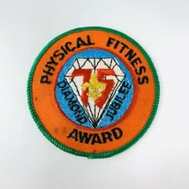 BSA Boy Scout Patch Mid America Council Diamond Jubilee Physical Fitness Award - $19.00