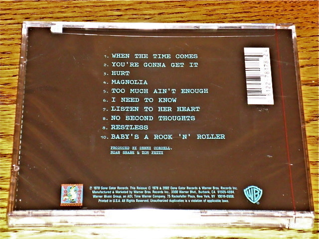 Tom Petty & The Heartbreakers You're Gonna Get It CD STILL FACTORY SEALED!