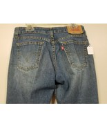 Levis 518 Super Low Stretch Boot Cut Women's Denim Blue Jeans Sz 1JR M 2... - $21.10
