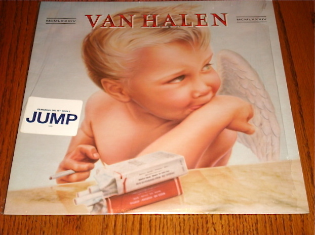 Primary image for Van Halen 1984 ORIGINAL LP STILL IN SHRINK WITH ORIGINAL JUMP STICKER