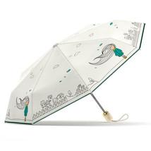 Genuine Folding Umbrella Rain Women Automatic Quality Waterproof Windproof Girls - $35.44