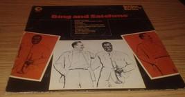 Bing Crosby Louis Armstrong Bing & Satchmo 1970 PROMO LP Vinyl VG/EX Jac... - $14.95