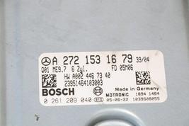 Mercedes Engine Control Unit Module ECU ECM A2721531679 A-272-153-16-79 image 2
