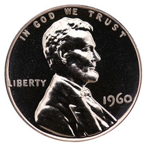 1960 Lincoln Memorial Cent Penny Gem Proof Mint Coin No Mint Mark Uncirc... - $7.99
