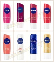 NIVEA Lip Care Balm Blackberry, Strawberry, Active Men, Cherry, Vanilla,... - $6.82+