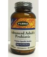 (New) Flora Advanced Adult's Probiotic   - 60 Capsules EXP 09/2020 - $33.65